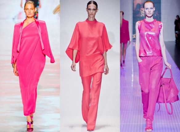Etro, Gucci e Versus Spring 2013