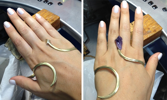 handcuff bianca bertoni pulseira de mao