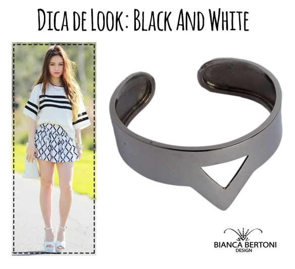 dica de lookblack and white 01