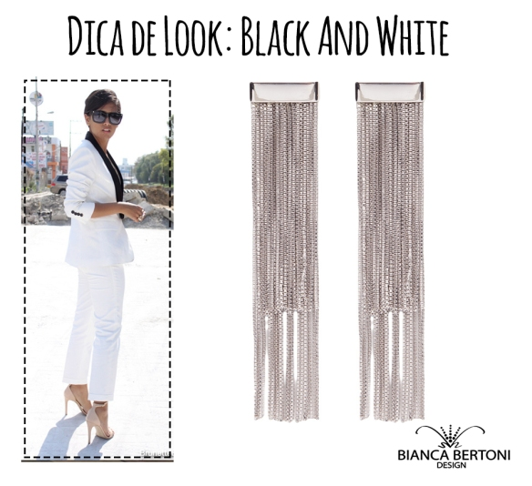 dica de lookblack and white 03
