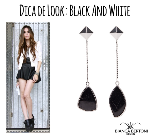 dica de lookblack and white 04