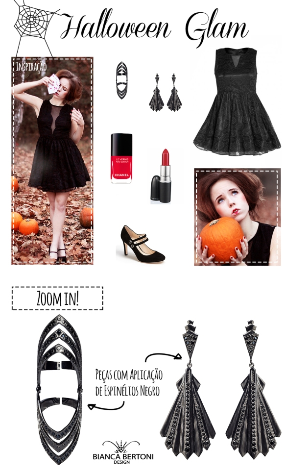dica de look layout - halloween look