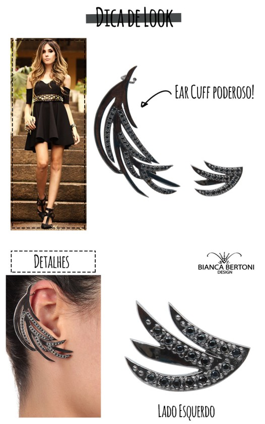 dica de look layout novo - look rocker chic