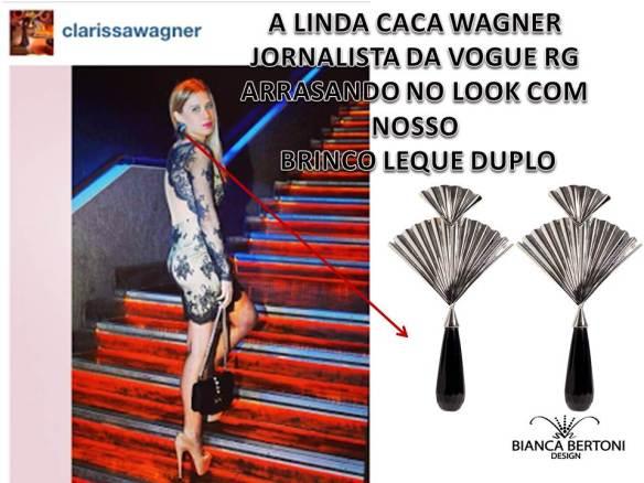 LOOK CACA WANGER BRINCO LEQUE DUPLO