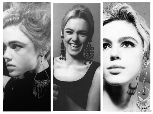 Anos 60 e a volta dos maxi brincos - Edie